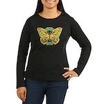 Celtic Butterfly Women's Long Sleeve Dark T-Shirt