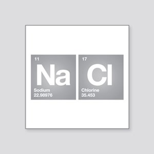 NACL Sodium Chloride Don't forget Salt Sticker
