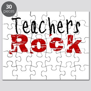Teachers Rock Puzzle