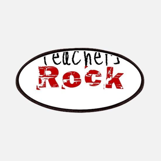 Teachers Rock Patches