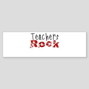 Teachers Rock Sticker (Bumper)