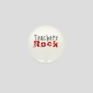 Teachers Rock Mini Button