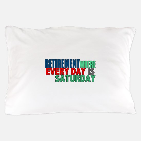 Retirement Pillow Case