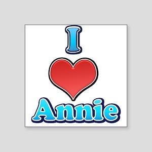 I Heart Annie 2 Sticker