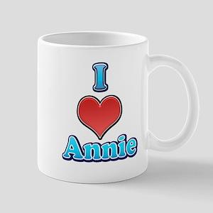 I Heart Annie 2 Mug