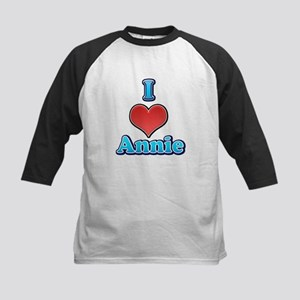 I Heart Annie 2 Baseball Jersey