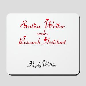 Erotica Writer seeks.... Mousepad