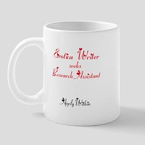 Erotica Writer seeks.... Mug