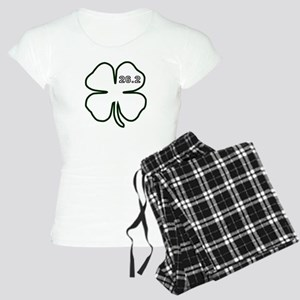 Dark Green Marathon Shamrock Pajamas