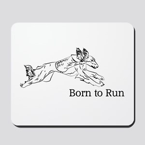 Born to Run - Saluki Mousepad