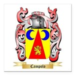 Campolo Square Car Magnet 3