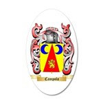 Campolo 20x12 Oval Wall Decal