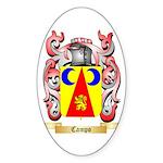 Campo Sticker (Oval)