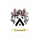 Campling Sticker (Rectangle 10 pk)