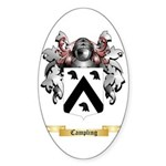 Campling Sticker (Oval 10 pk)