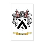 Campling 20x12 Wall Decal
