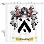 Campling Shower Curtain