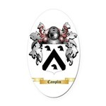 Camplin Oval Car Magnet