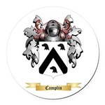 Camplin Round Car Magnet
