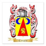 Campisi Square Car Magnet 3
