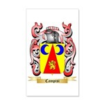 Campisi 35x21 Wall Decal