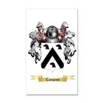 Campion Rectangle Car Magnet