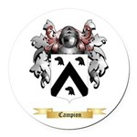 Campion Round Car Magnet