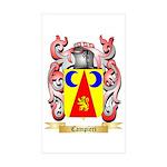 Campieri Sticker (Rectangle 10 pk)