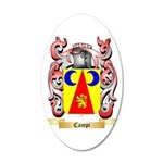 Campi 20x12 Oval Wall Decal