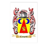 Campetti Postcards (Package of 8)