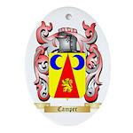 Camper Ornament (Oval)