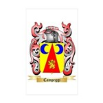 Campeggi Sticker (Rectangle 10 pk)