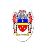 Campeau 35x21 Oval Wall Decal