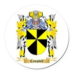 Campbell Round Car Magnet