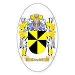 Campbell Sticker (Oval 50 pk)