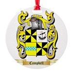 Campbell 2 Round Ornament