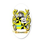 Campbell 2 Oval Car Magnet