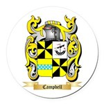 Campbell 2 Round Car Magnet