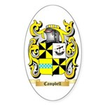 Campbell 2 Sticker (Oval 10 pk)