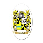 Campbell 2 20x12 Oval Wall Decal