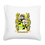 Campbell 2 Square Canvas Pillow