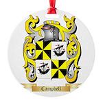 Campbell (Ireland) Round Ornament