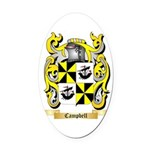 Campbell (Ireland) Oval Car Magnet