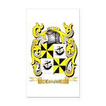 Campbell (Ireland) Rectangle Car Magnet