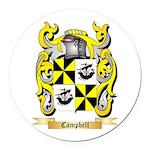 Campbell (Ireland) Round Car Magnet