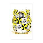 Campbell (Ireland) Sticker (Rectangle 10 pk)