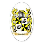 Campbell (Ireland) Sticker (Oval)