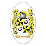 Campbell (Ireland) Sticker (Oval 10 pk)