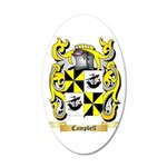 Campbell (Ireland) 20x12 Oval Wall Decal