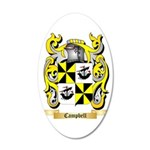 Campbell (Ireland) 35x21 Oval Wall Decal